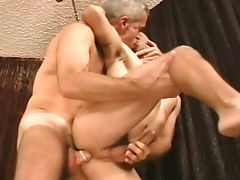 Sexy italian get fucked in the ass by daddys huge hard cock