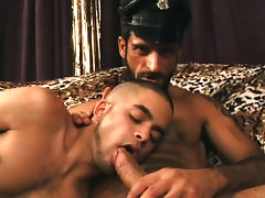 Hot studs having some hardcore domination action in this one